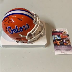Other - Trey Burton Autograph Signed Gators Mini Helmet